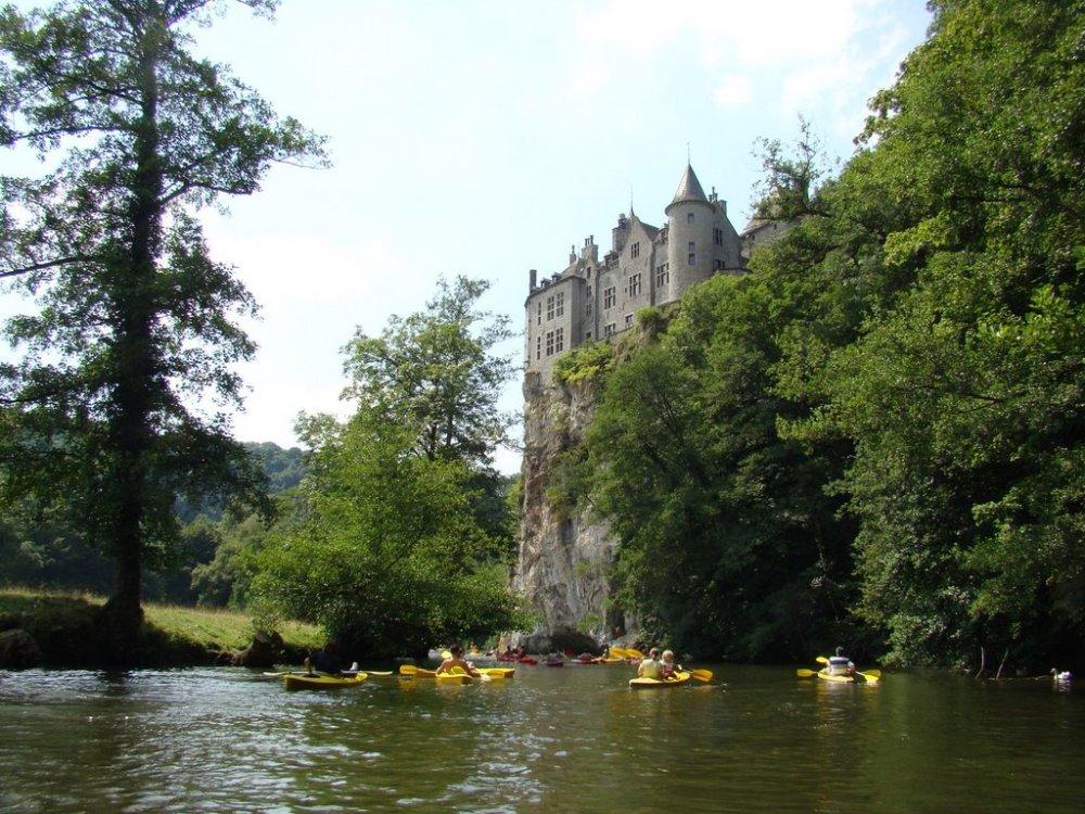 Lesse kayak